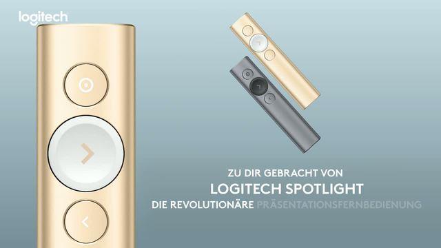 Logitech - Spotlight Kabelloses Präsentationsgerät Video 18
