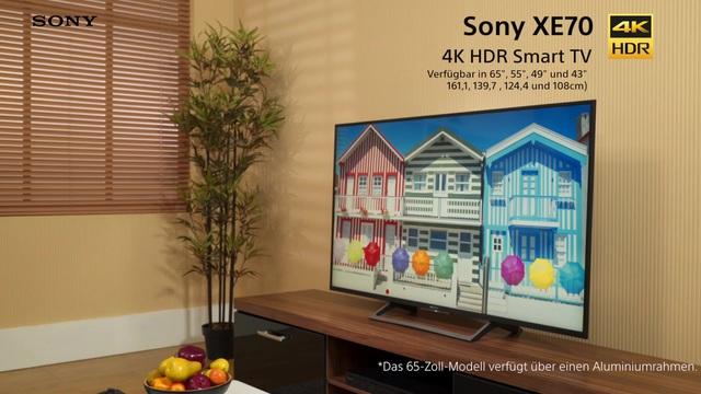Sony - Bravia XE70 4K HDR Smart TV Video 3