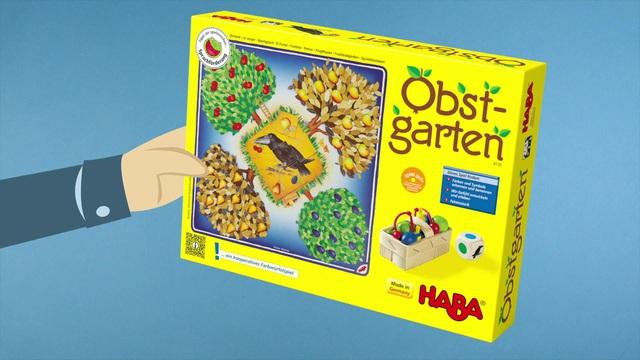 HABA Obstgarten - der kooperative Spieleklassiker (deutsch) Anleitungsvideo