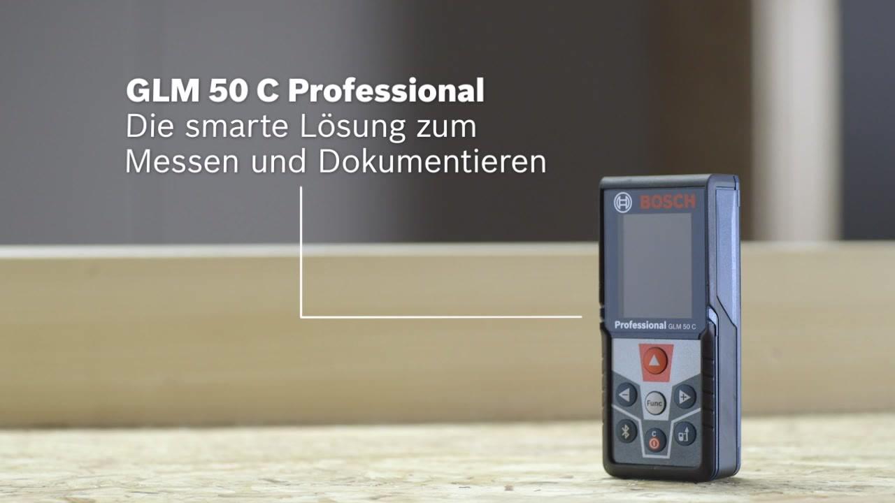 Glm 50 c laser entfernungsmesser bosch professional