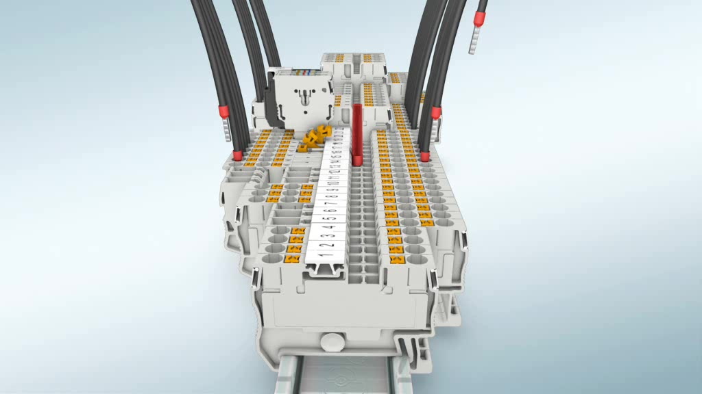 Phoenix Contact PT 10-PE 3212131 Dreistock-Schutzleiterklemme Polzahl 2 0.5 mm²