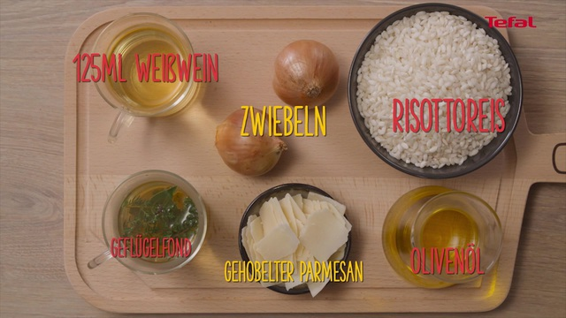 Tefal - My ccoking guide: Rezept Risotto Video 6