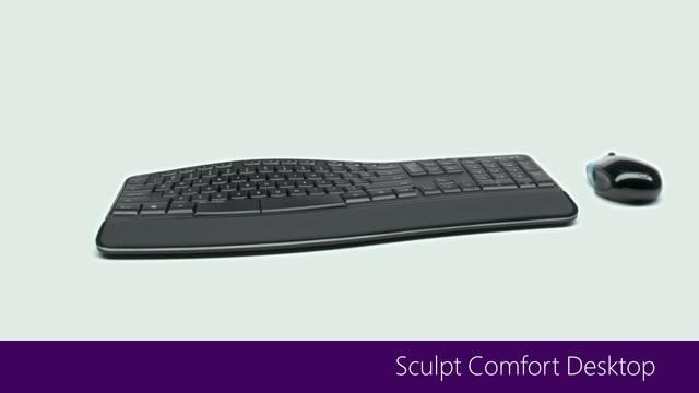 Sculpt Comfort Desktop_Produktvideo Video 14