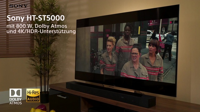 Sony - HT-ST5000 Soundbar Video 3